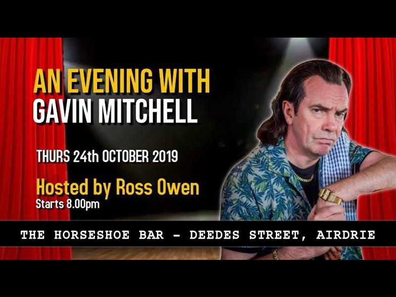 An Evening With Still Game star Gavin Mitchell