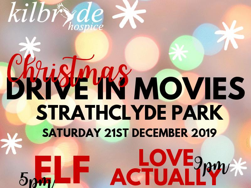 Kilbryde Hospice Christmas Drive In Movies