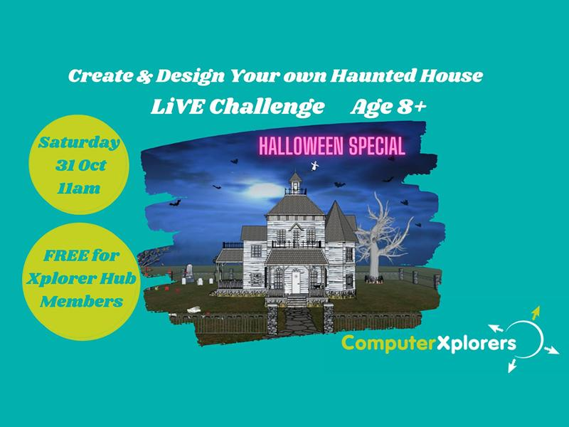 Create Your Very Own Haunted House using CAD Drawing Age 8+