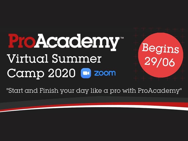 ProAcademy Virtual Summer Camp