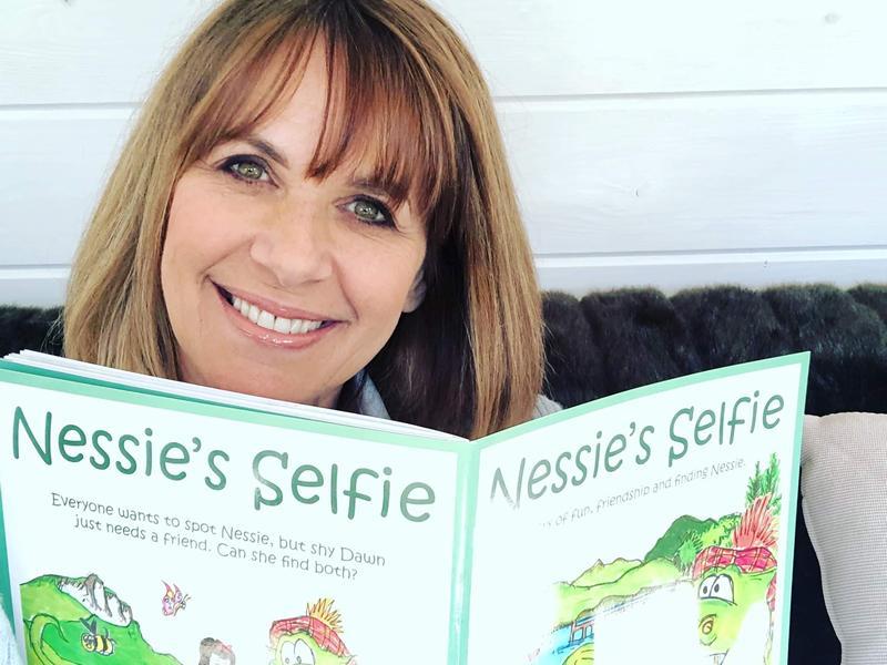 Carol Smillie narrates Scottish book for children during LOCHdown