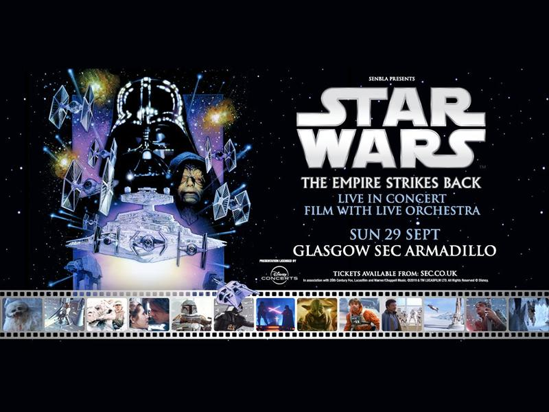 Star Wars: The Empire Strikes Back Film With Live Orchestra