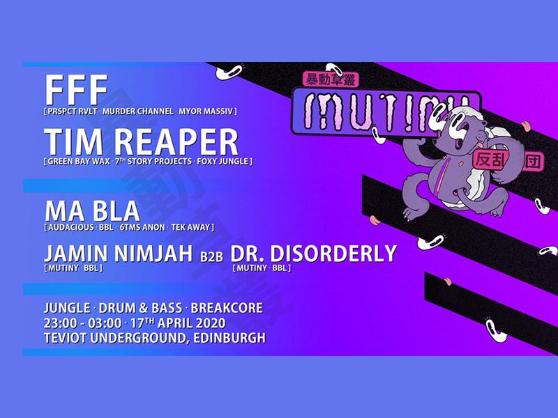 Mutiny featuring FFF and Tim Reaper