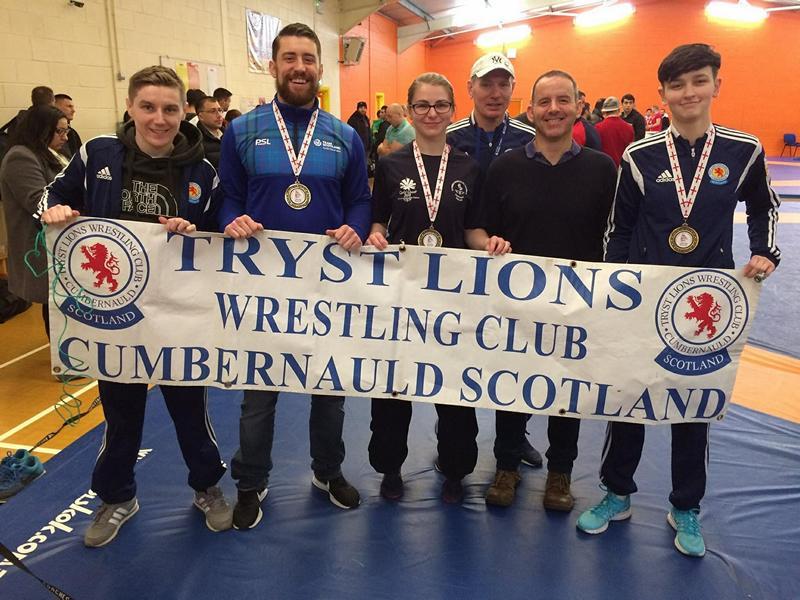 Tryst Lions Wrestling Club