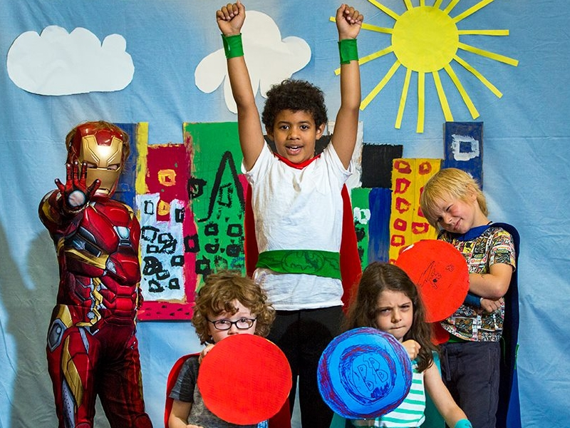 Superhero Capes, Time Travel and Mermaid Tails... East Renfrewshire announce their School Holiday Programme!