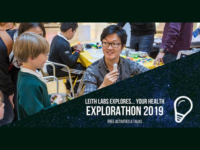 Leith Labs Explores Your Health! - Explorathon 2019