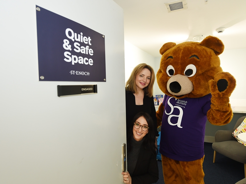 St. Enoch Centre launches quiet room for autistic people