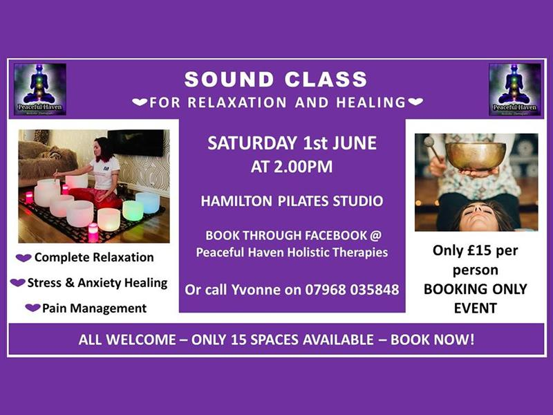 Sound Bath for relaxation