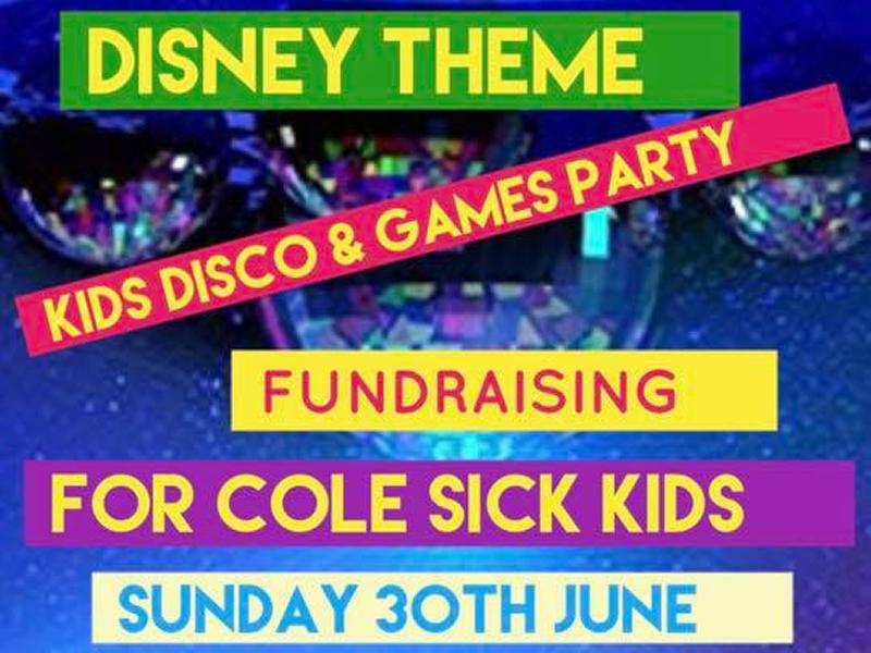 Fundraiser Party Time For The Kids