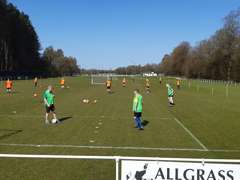 Giffnock Soccer Centre Walking Football Sessions