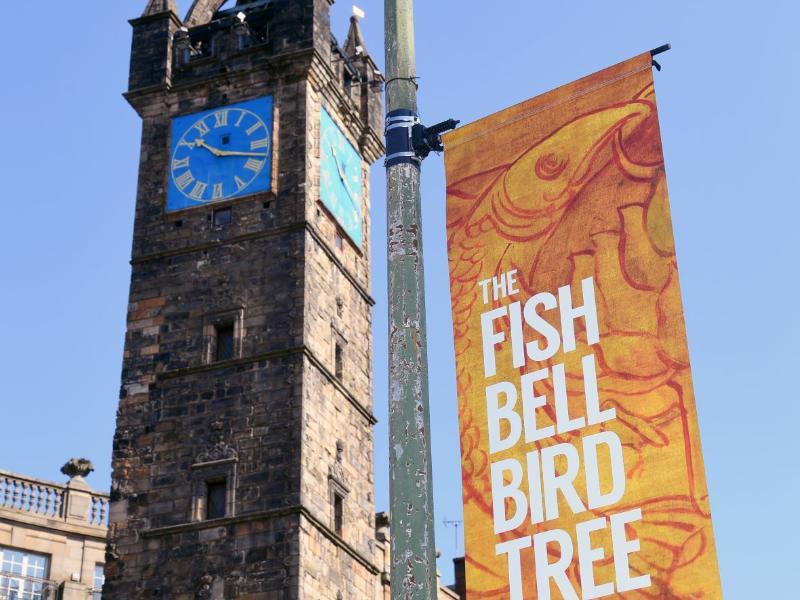 High Street banners unfurled to reveal the heritage of historic Glasgow district