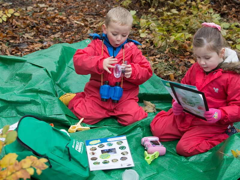 Forest Family Bags up for grabs at Glasgow nurseries
