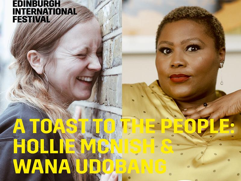 A Toast to the People: Hollie McNish and Wana Udobang