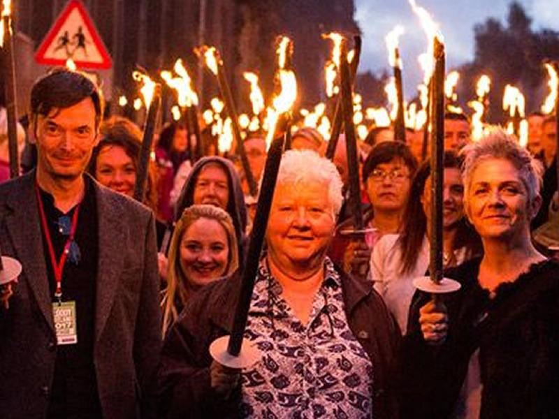 Bloody Scotland: Gala Opening, McIlvanney Prize and Torchlight Procession