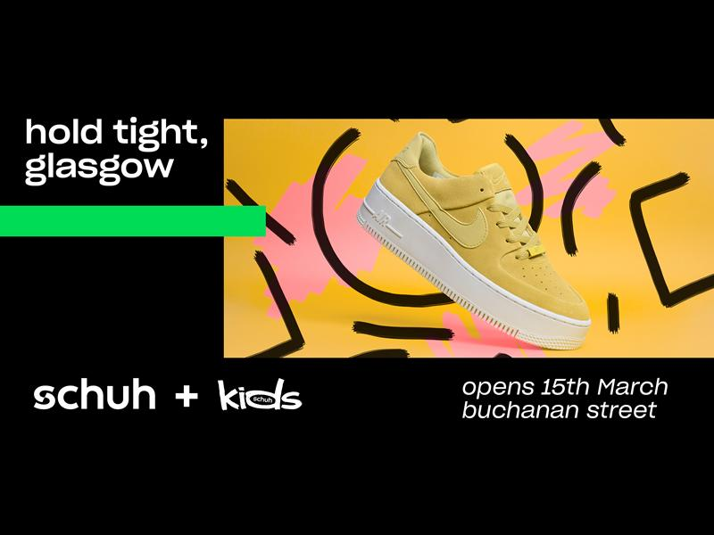 Free trainers up for grabs as Buchanan Galleries welcomes schuh!