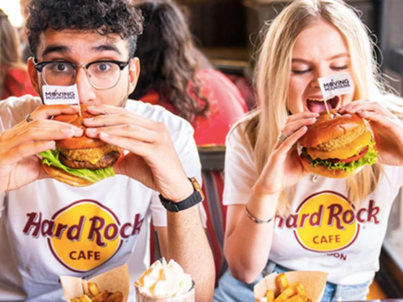 Cure Blue Monday with a free burger at Hard Rock Cafe Glasgow!