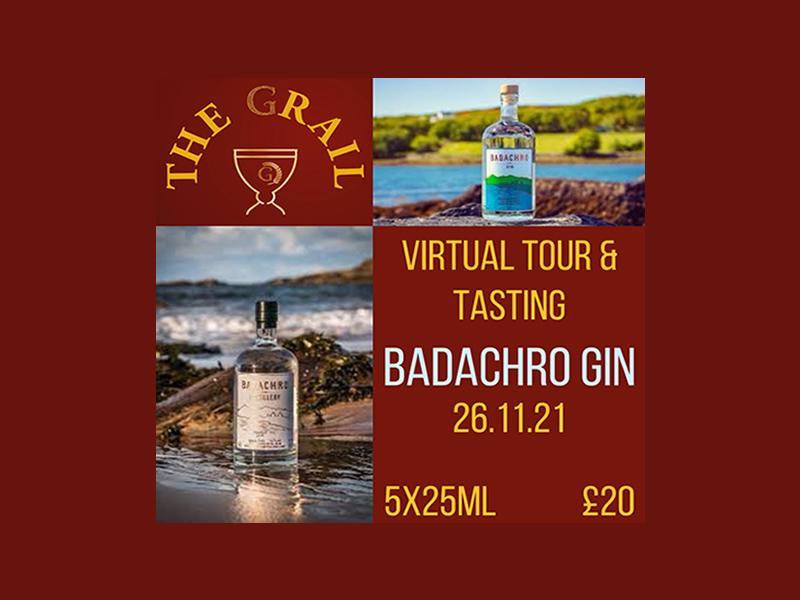 Virtual Tour and Tasting with Badachro Gin