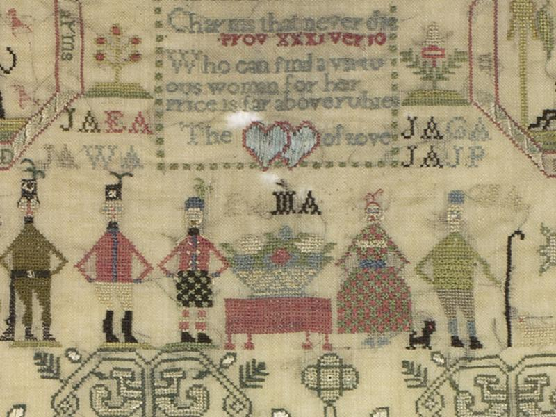 Embroidered Stories: Scottish Samplers