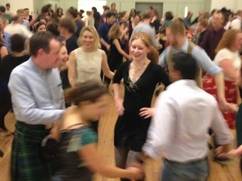 Ceilidh in Lauriston Hall