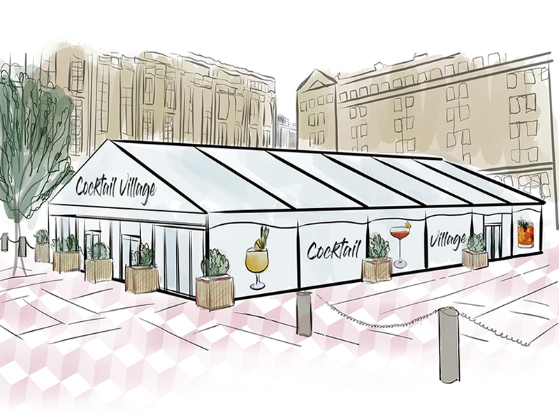 Edinburgh Cocktail Week Announces Huge Cocktail Village for 2018