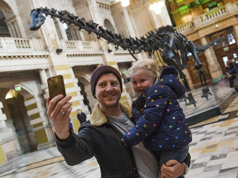 Dippy wows 24,000 during opening weekend at Kelvingrove
