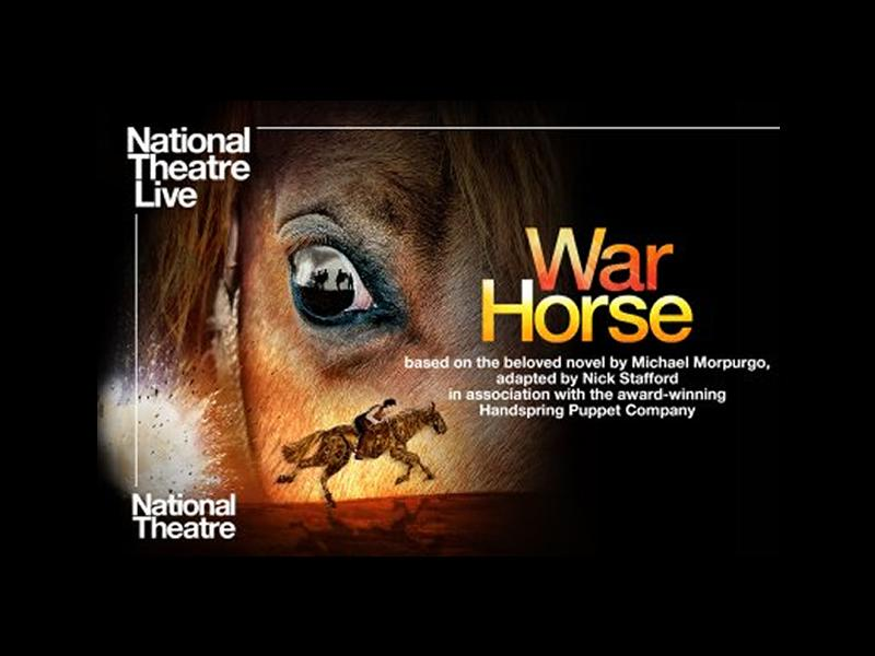 National Theatre Live: War Horse - CANCELLED