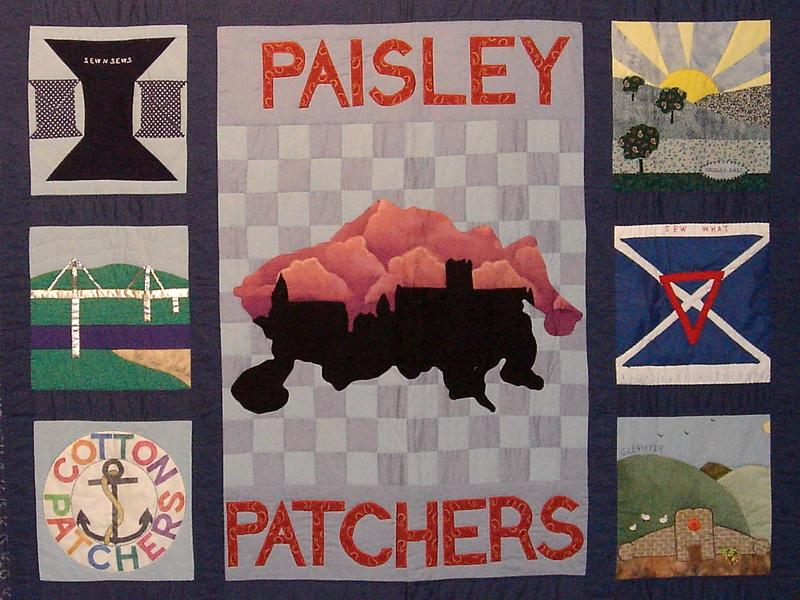 Paisley Patchers with Dawn Cameron-Dick