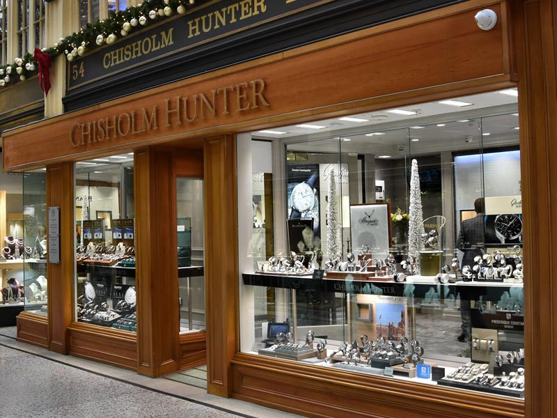 Chisholm Hunter launches Glasgow flagship store