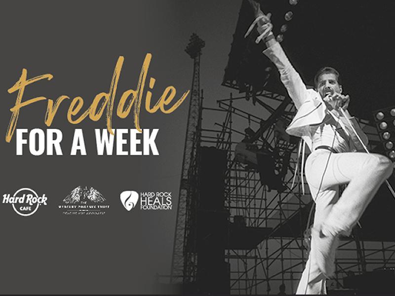 Hard Rock Cafe Glasgow and Edinburgh to honour the legacy of Freddie Mercury