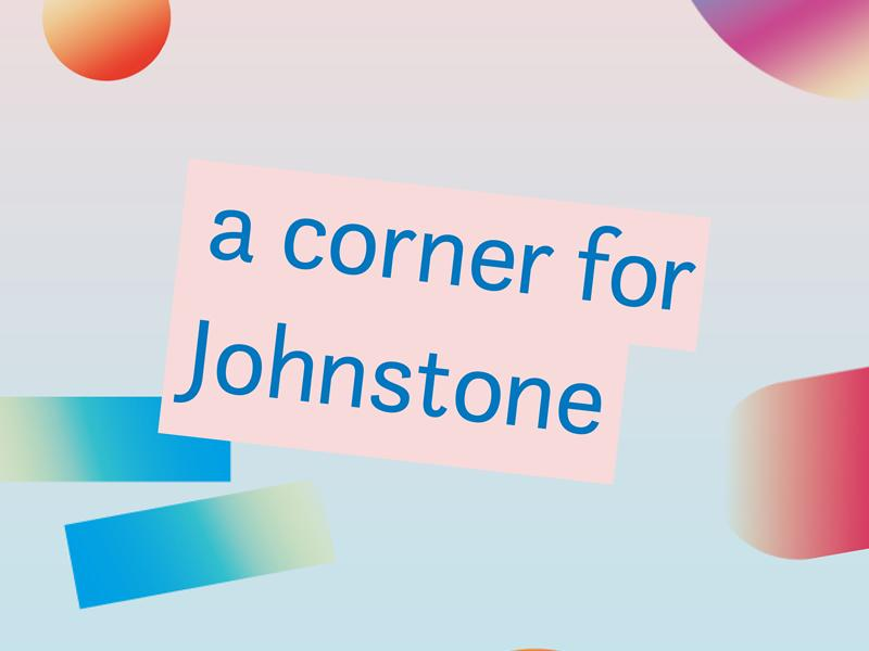 A Corner for Johnstone - Youth Modelling Activities