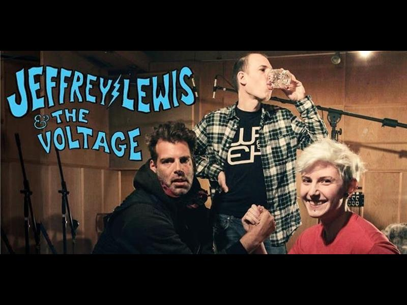 Jeffrey Lewis & The Voltage with Burnt Paw