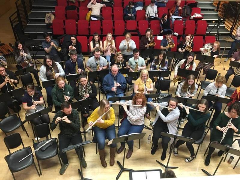 Clyde Wind Ensemble Rehearsals