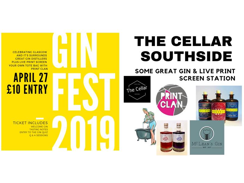 A Gin Fest with Disco, Pizza & Live Print Screening
