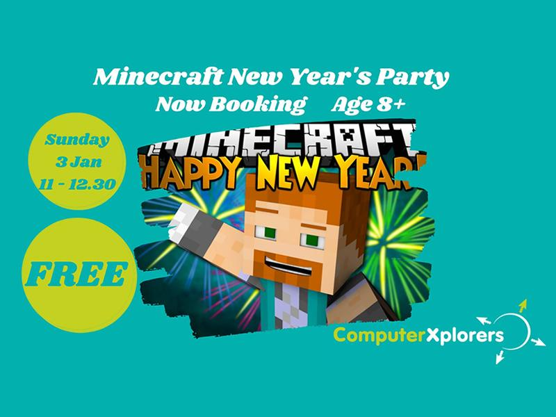 Minecraft New Year's Party