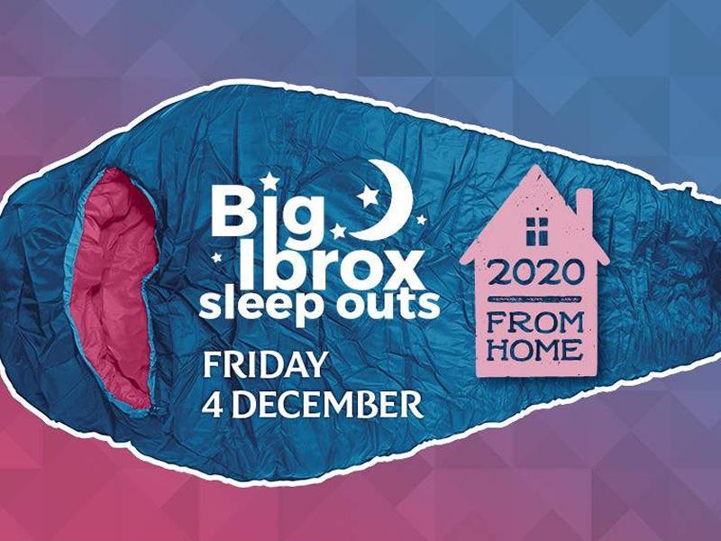 Big Ibrox Sleep Out From Home!