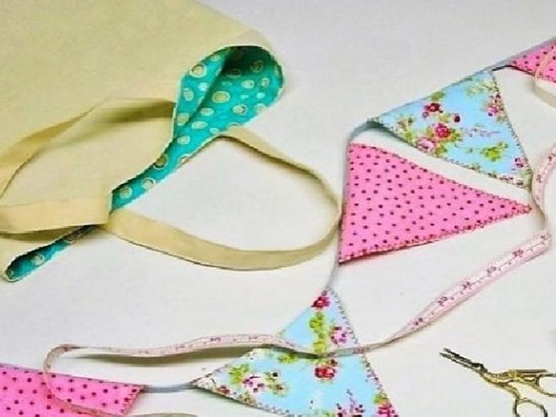 Kids Sewing Class: How to make bunting