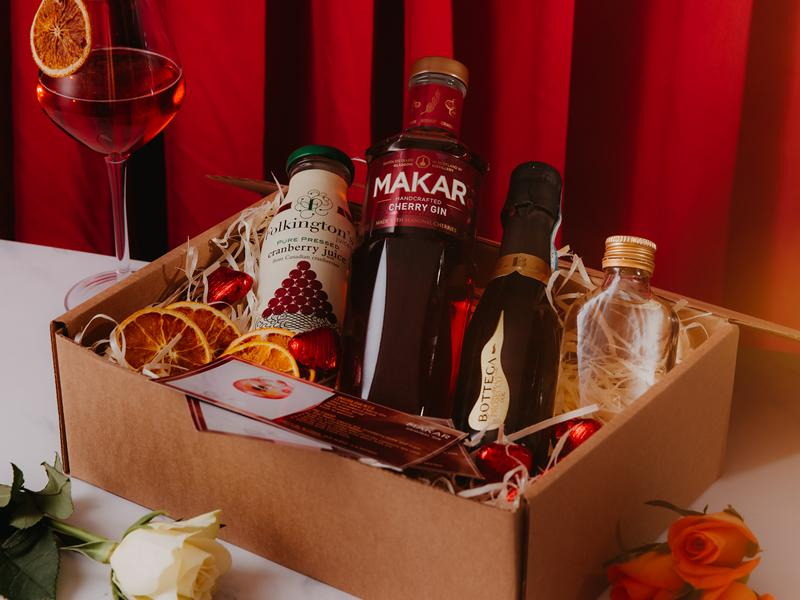 Celebrate Valentines Day with Makar Gin