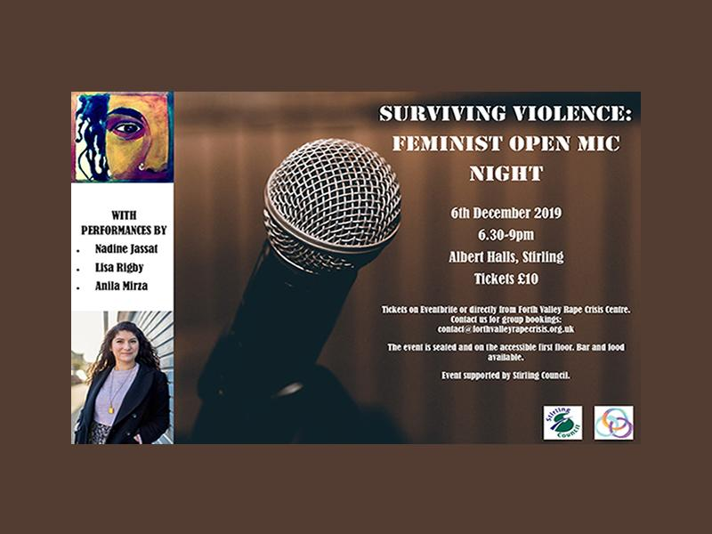Surviving Violence: Feminist Open Mic Night