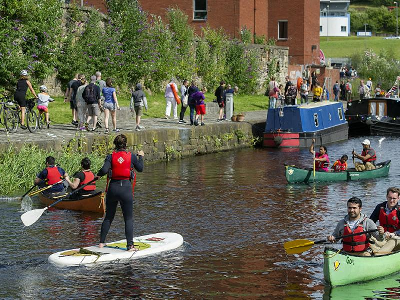 Glasgow Canal Co op will launch their Getting North Glasgow Canal Active project in February