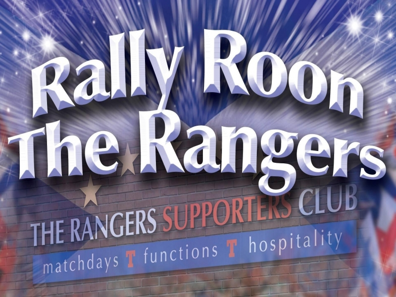 Rally Roon The Rangers - POSTPONED