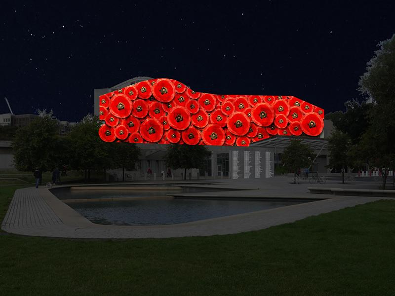 Names of WW1 Fallen to illuminate Scottish Parliament as mark of respect