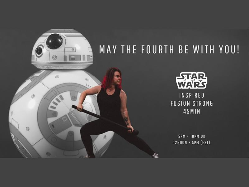 May The 4th Be With You - Star Wars Inspired Movement Class