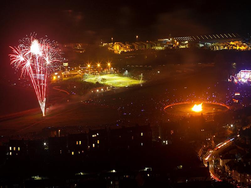 Burntisland Fireworks and Bonfire Night