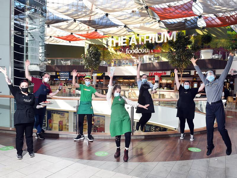 St. Enoch Centre food vendors welcome Eat Out to Help Out scheme