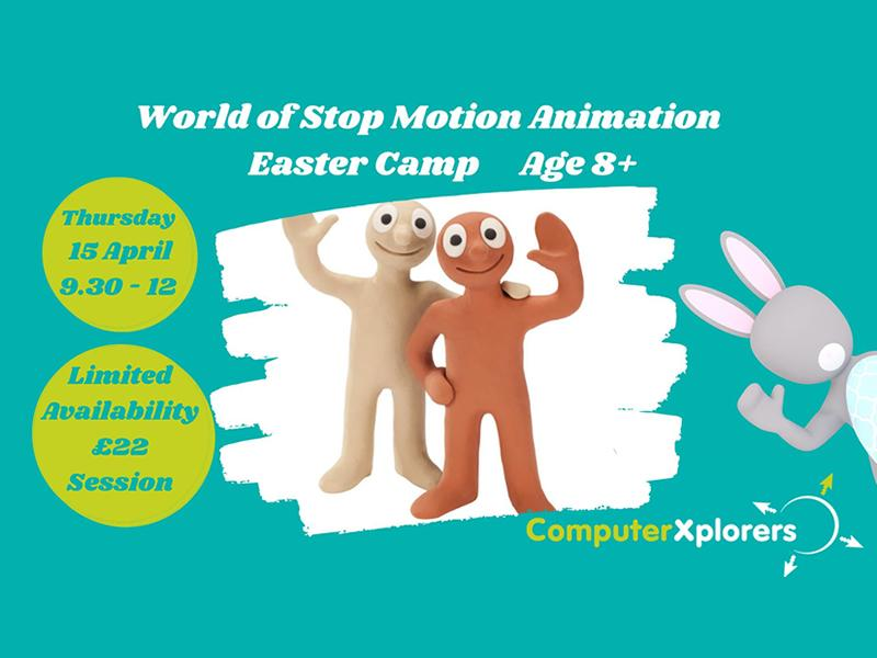 World of Stop Motion Animation - Easter Camp for Kids