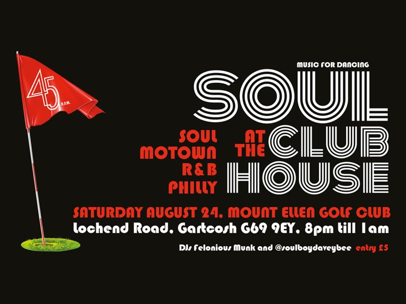 Soul at The Club House - CANCELLED