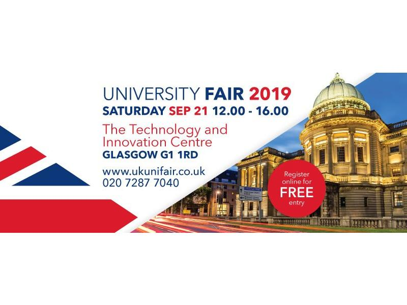UK University Fair - Glasgow