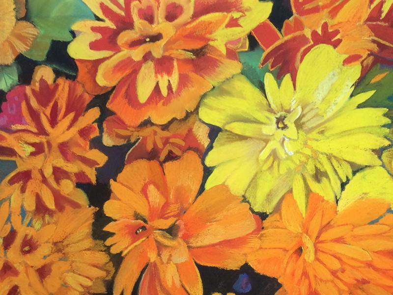 Introduction to Pastels - Flowers with Blaeberry River Art