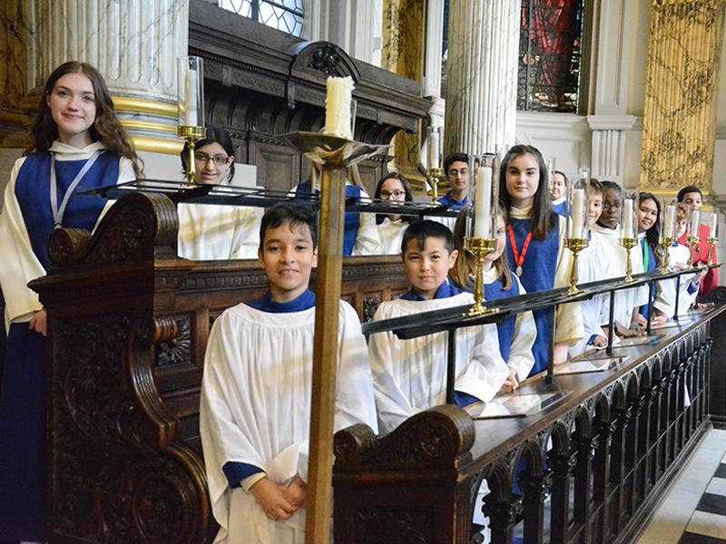 The Choir of Birmingham Cathedral