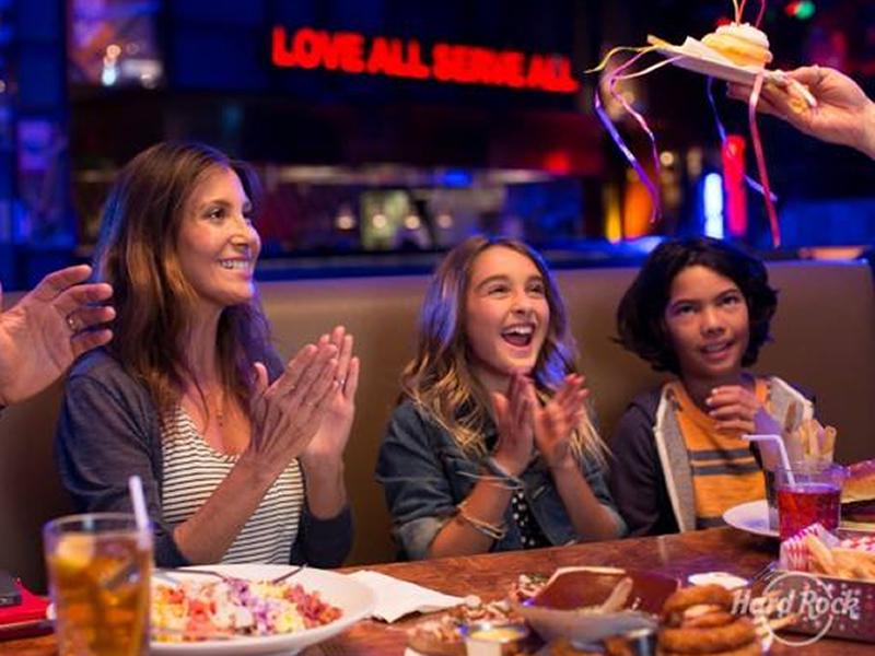 Kids Eat Free at Hard Rock Cafe this November